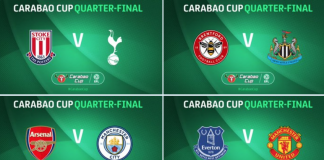 Some tasty ties in the Quarter-Finals!